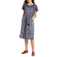Buy White Stuff Indian Summer Dress, Ink Blue Online at johnlewis.com