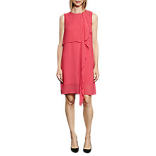 Buy French Connection James Sheer Fluted Dress Online at johnlewis.com