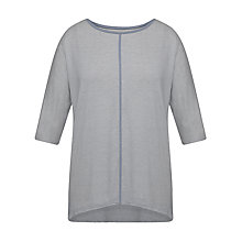 Buy Celuu Annie Jersey Top, Blue Online at johnlewis.com