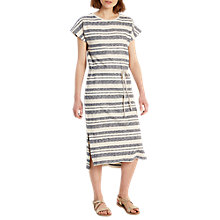 Buy White Stuff Amaya Stripe Jersey Dress, Ink Blue Online at johnlewis.com
