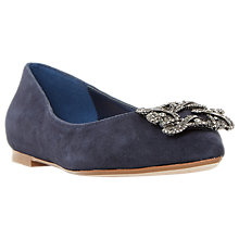 Buy Dune Briela Jewel Ballet Pumps Online at johnlewis.com