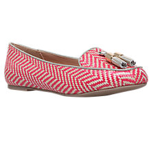 Buy Miss KG Neptune Tassel Loafers, Red Online at johnlewis.com