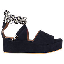 Buy Whistles Molino Flatform Tie Sandals Online at johnlewis.com