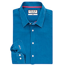 Buy Thomas Pink Miller Linen Casual Fit Shirt, Blue Online at johnlewis.com