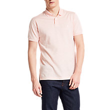 Buy Thomas Pink Wallis Plain Classic Fit Polo Shirt, Pale Pink/White Online at johnlewis.com