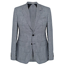 Buy Thomas Pink Duran Prince of Wales Flannel Blazer, Navy/White Online at johnlewis.com