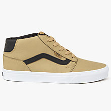 Buy Vans Chapman Mid Leather Trainers Online at johnlewis.com