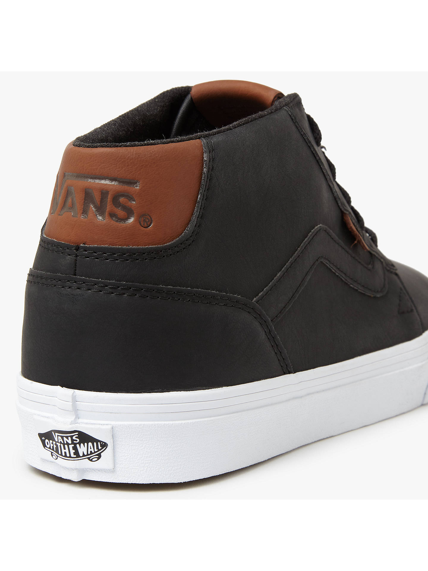 3604878a3716a Vans Chapman Mid Leather Trainers at John Lewis   Partners