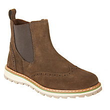 Buy John Lewis Children's Rupert Suede Chelsea Boots, Brown Online at johnlewis.com