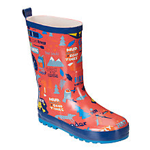 Buy John Lewis Night Hike Wellington Boots, Red Online at johnlewis.com