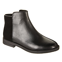 Buy John Lewis Children's Ali Ankle Boots, Black Online at johnlewis.com