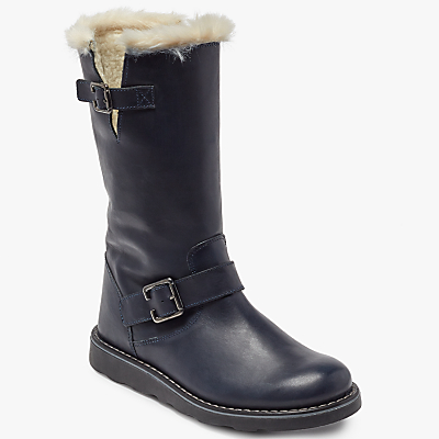 John Lewis Children's Leia Shearling Boots