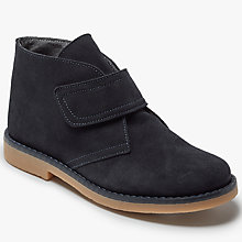 Buy John Lewis Children's Heirloom Jasper Riptape Desert Boots, Navy Online at johnlewis.com