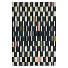 Buy Scion Blok Rug, Grey Online at johnlewis.com