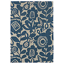 Buy Scion Kukkia Floral Rug, Blue Online at johnlewis.com