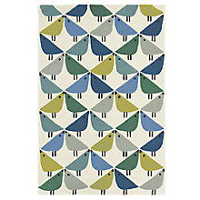 Buy Scion Lintu Birds Rug, Blue Online at johnlewis.com