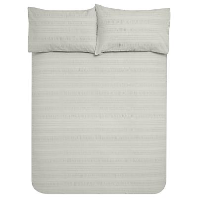 John Lewis Pippa Seersucker Duvet Cover and Pillowcase Set