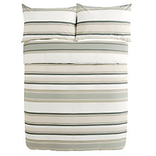 Buy John Lewis Murray Stripe Duvet Cover and Pillowcase Set Online at johnlewis.com