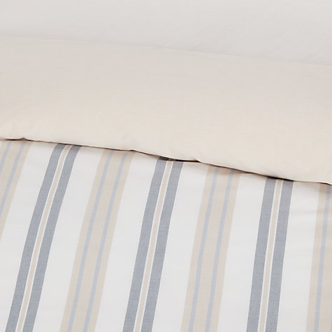 Buy John Lewis New England Stripe Cotton Bedding Online at johnlewis.com