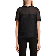 Buy AllSaints Charlton Top Online at johnlewis.com