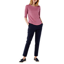 Buy White Stuff Petro Chino Trousers, Navy Online at johnlewis.com