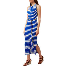 Buy Hobbs Hattie Maxi Dress, Blue/White Online at johnlewis.com