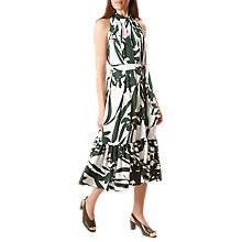 Buy Hobbs Maida Dress, Pine Green Online at johnlewis.com