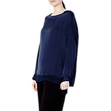 Buy Ghost Lydia Top, Marine Blue Online at johnlewis.com