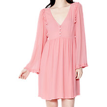 Buy Ghost Stella Dress, Cameo Pink Online at johnlewis.com