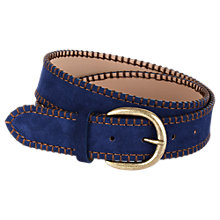 Buy Hobbs Selena Leather Belt Online at johnlewis.com