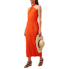 Buy Hobbs Violet Halterneck Dress, Sunkissed Online at johnlewis.com