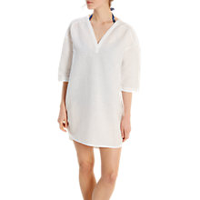 Buy White Stuff Cococabana Shirt Dress, Off White Online at johnlewis.com