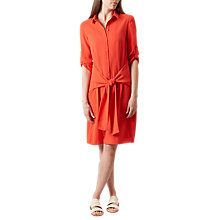 Buy Hobbs Savannah Dress, Flame Orange Online at johnlewis.com
