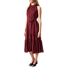 Buy Hobbs Maida Dress, Mulberry Online at johnlewis.com