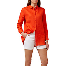 Buy Hobbs Sabrina Linen Shirt Online at johnlewis.com