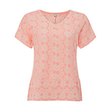 Buy White Stuff Nolon Jersey T-Shirt, Carnation Pink Online at johnlewis.com