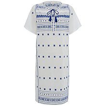 Buy White Stuff Shipwreck Embroidered Kaftan, White Online at johnlewis.com