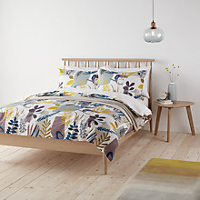 Buy John Lewis Scandi Astrid Print Cotton Duvet Cover and Pillowcase Set Online at johnlewis.com