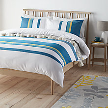 Buy John Lewis Scandi Felix Duvet Cover Set Online at johnlewis.com