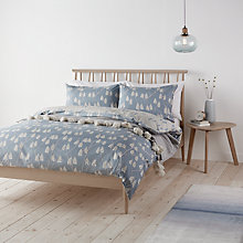 Buy John Lewis Scandi Lotta Print Cotton Duvet Cover and Pillowcase Set Online at johnlewis.com
