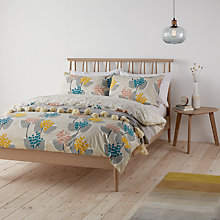 Buy John Lewis Stellan Print Cotton Duvet Cover and Pillowcase Set Online at johnlewis.com