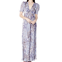 Buy Ghost Tilda Satin Dress, Mariana Bloom Online at johnlewis.com