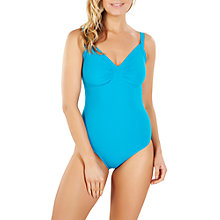 Buy Speedo Sculpture Watergem 1-Piece Swimsuit, Blue Online at johnlewis.com