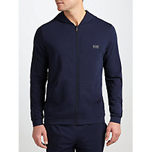 Buy BOSS Mix N Match Lounge Hoodie, Navy Online at johnlewis.com
