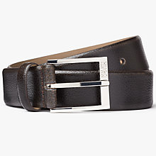 Buy HUGO by Hugo Boss C-Elloy Leather Belt Online at johnlewis.com