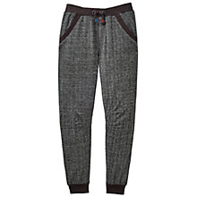 Buy Little Joule Boys' Junior Hudd Herringbone Joggers, Grey Online at johnlewis.com