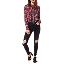 Buy Miss Selfridge Lizzie Busted Knee Jeans Online at johnlewis.com