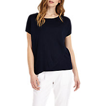 Buy Phase Eight Elizabetta Double Layer Jumper, Navy Online at johnlewis.com
