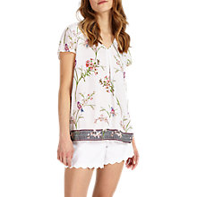 Buy Phase Eight Hummingbird Print Blouse, Multi Online at johnlewis.com