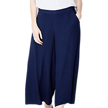 Buy Ghost Ava Wide Leg Trousers, Marine Blue Online at johnlewis.com